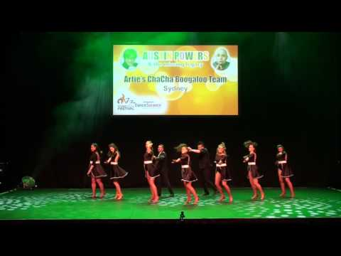 Sydney Latin Festival 2017 - ARTIES CHACHA BOOGALOO TEAM