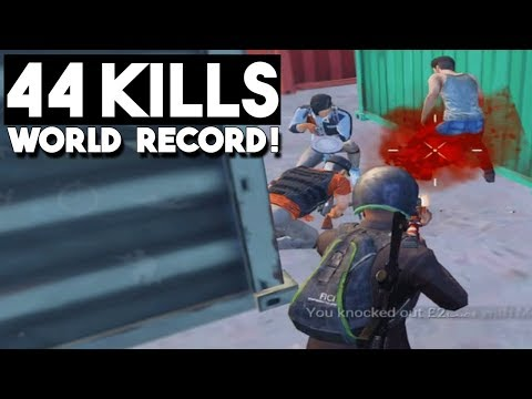 NEW WORLD RECORD!!! | 44 KILLS Duo vs Squad | PUBG Mobile