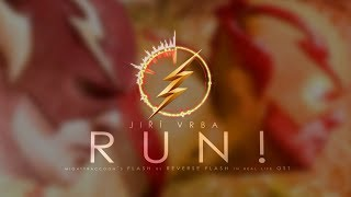 RUN! | Mightyraccoon´s Flash VS Reverse Flash (in real life!) | OST by JV Music Composer