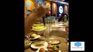 [Travel with Gari] Ăn lẩu băng chuyền cực kì hấp dẫn tại KICHI KICHI