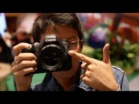"You've been asking for it. Repeatedly. And now we have finally got our hands on Canon's latest, ""cheaper"", full-frame DSLR. With the name ""6D""(http://bit.ly/..."