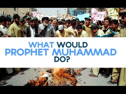 What Would Prophet Muhammad (S) Do? [Cartoons]