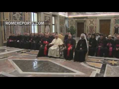 Pope Francis asks for peace in Syria, Iraq and Ukraine
