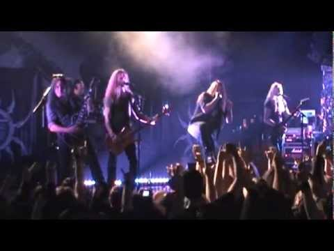 HammerFall - BYH - European Outbreak 2011, Templar Zone Budapest [live at Club202]
