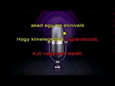 Halász Judit   Micimackó karaoke