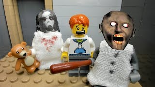 GRANNY LEGO THE HORROR GAME ANIMATION: Scary Granny Compilation