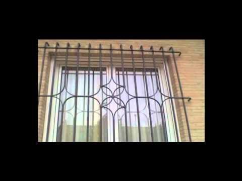 Catalogo herreria puertas ventanas rejas etc youtube for Modelos de puertas de herreria