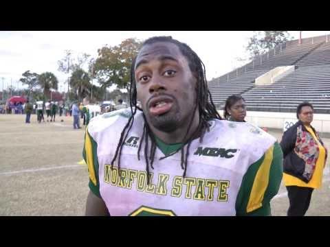 DeAngelo Branche Post-Game Interview - Savannah State