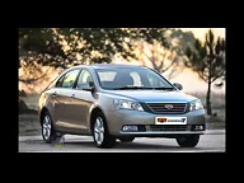 New Geely Emgrand EC7 обзор Новые легковые китайские автомобили