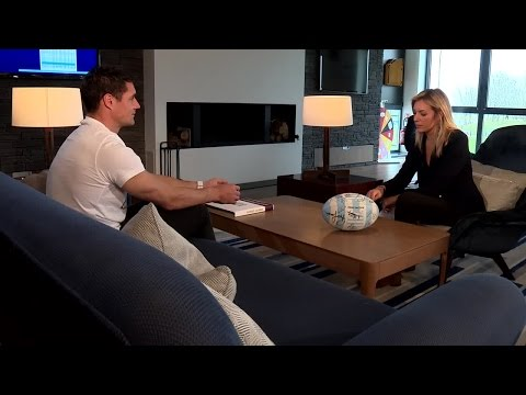 VIDEO. L'entretien de Stade 2 avec Dan Carter (version longue)