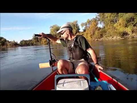 Minn Kota Endura Max 45, Set Up and Test on a Canoe