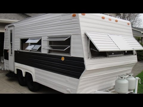 camper rebuild bedroom addition 2013 camping year youtube