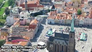 Spitfire + Harvard - Convoy of Liberty 2018