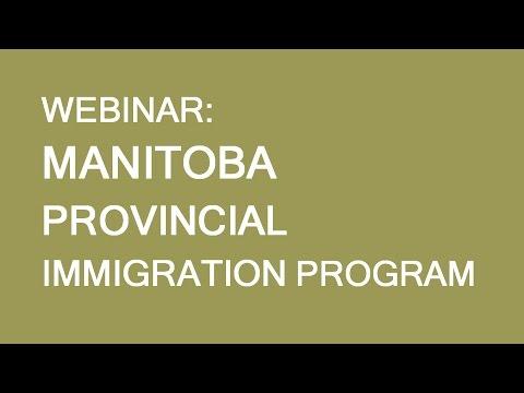 Free webinar: Manitoba Provincial Nominee Program