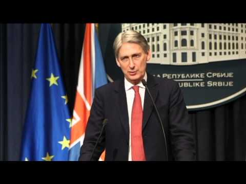 Serbian EU Membership Hopes: British FM praises Serbia for progress in improving Kosovo relations