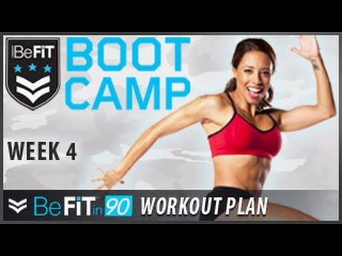 BeFit In 90 Workout Plan: Week 4- BeFiT Bootcamp