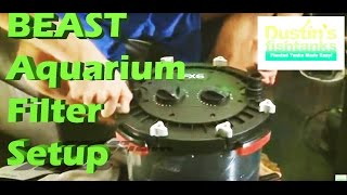 How To Setup An Aquarium Filter Aquarium Fluval Fx6 Filter Fx5 Swap For Fx6