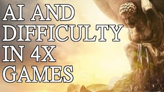 AI and difficulty in 4x games
