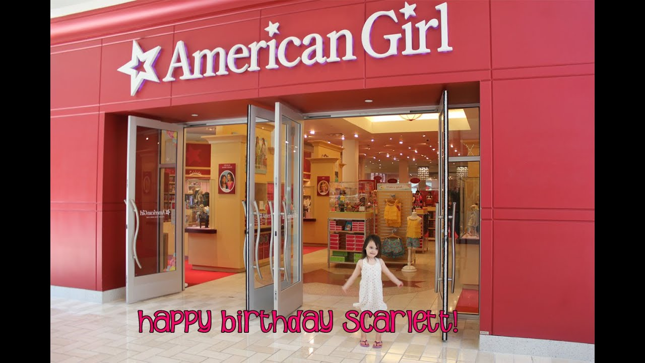 american girl doll store