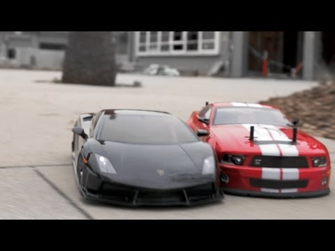 RC Drift Cars vs Parkour