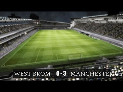 West Brom 0-3 Manchester United - Premier League 08.03.2014