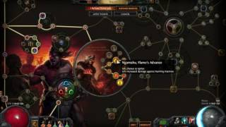PoE - Triple Flame Totem Chieftain in Breach league (uber viable)