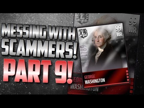 Messing With Scammers! Episode 9: (George Washington) Madden Mobile