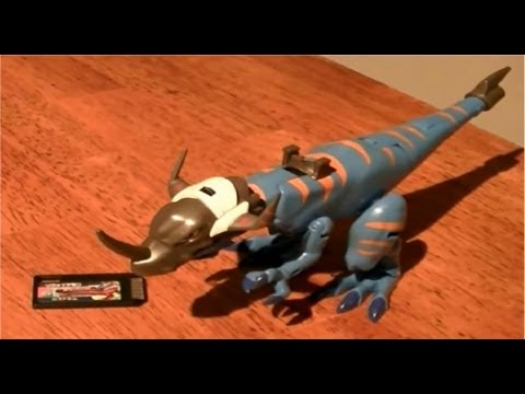 Digimon Xros Figure Series 03 Greymon Review video