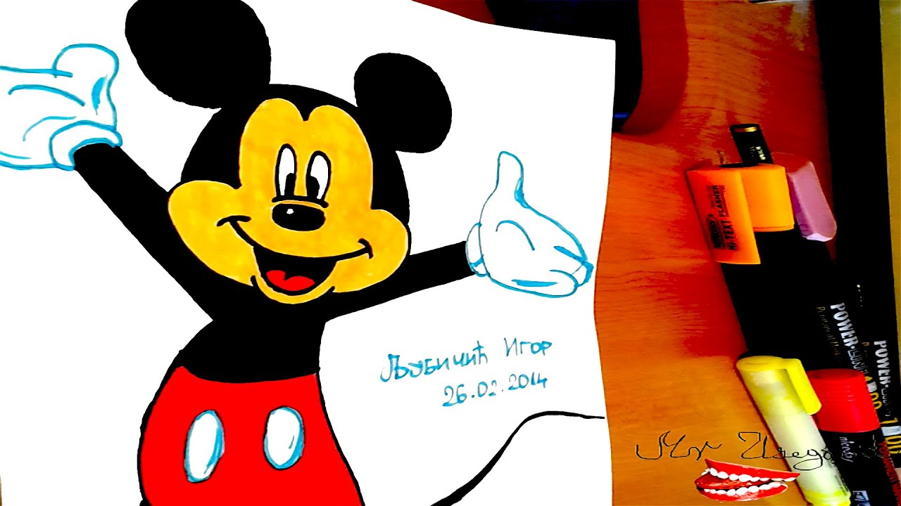 WALT DISNEY 'S MICKEY MOUSE VOL 2: Trapped on Treasure How to draw old fashioned mickey mouse step by