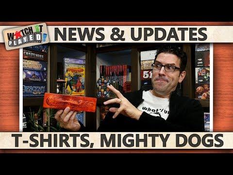 News (2017-10-03): T-Shirts, Dog Might, SHUX