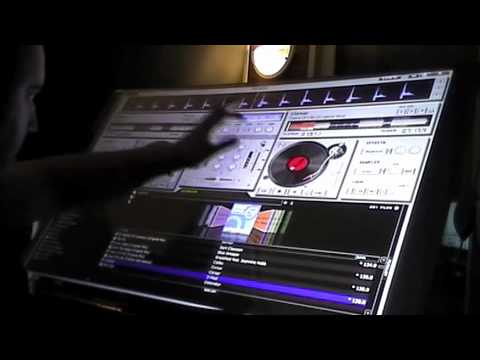 dj touch screen - The IcoN - trance mix -part1
