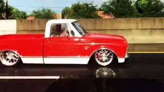 "Chevy C10 ACCUAIR Bagged Air Ride Juanky Built ""No Fuks Given"""