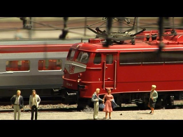 Model Railroad HO Scale Germany Railway