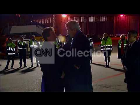 SWITZERLAND: KERRY ARRIVES FOR SYRIAN PEACE TALKS