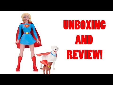 DC Collectibles Designer Series Darwyn Cooke Supergirl Figure Review