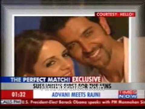 Hrithik & Sussane Hello Magazine Photoshoot