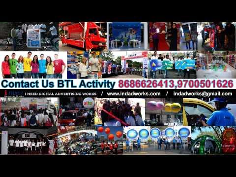 Innovative BTL activities in Hyderabad