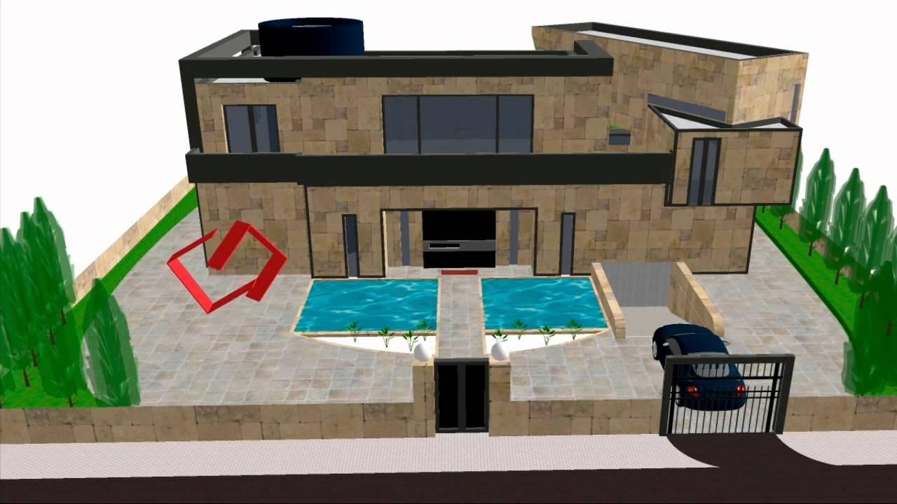 Proyecto de supercasa 2 jorge pellicer youtube for Diseno de casa de 300 metros cuadrados
