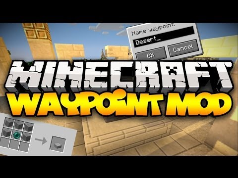 Minecraft: WAYPOINTS! (Teleport Anywhere, Anytime!) | Mod Showcase