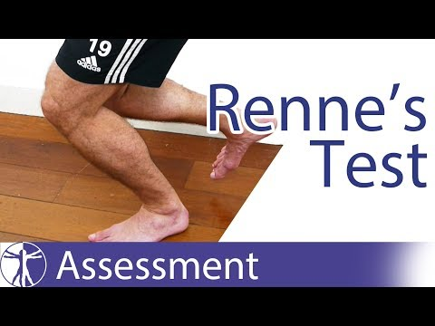 Renne's Test | Iliotibial Band Friction Syndrome ITBS