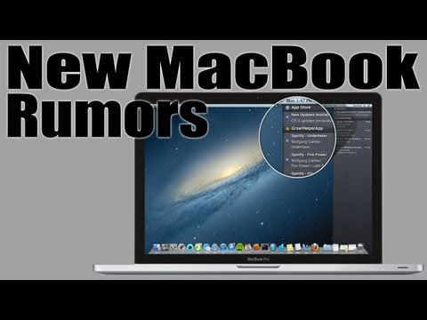 New 2012 Macbook Pro - Rumor Roundup Music Videos