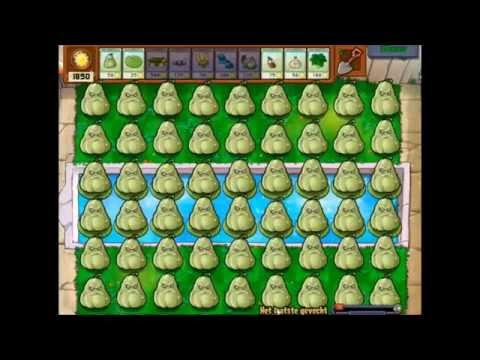 plants vs zombies hypno-shrooms and squash party