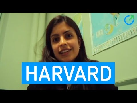 Harvard: ela chegou lá!