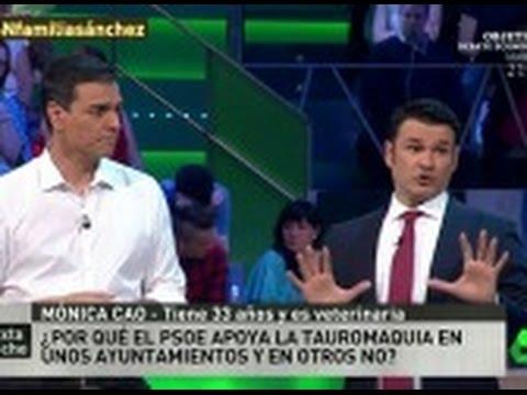 """Pedro Sánchez: """"Nunca iré a una plaza de toros, pero respeto la tauromaquia"""""""
