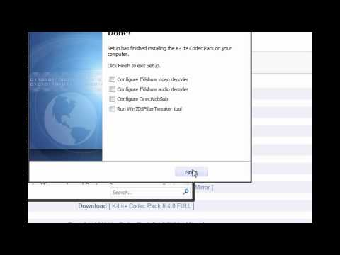 How to play an flv file in Windows Media Player