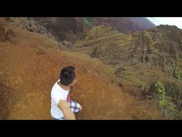 GoPro at Waimea Canyon HD - [Kauai, Hawaii 2014 Day 5]