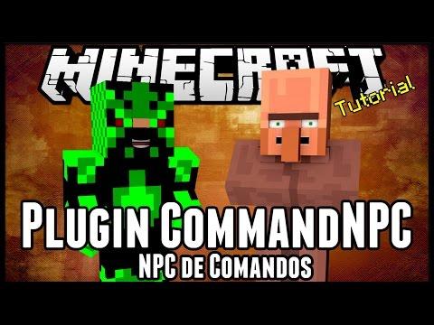 [Tutorial]CommandNPC - NPC de Comandos Minecraft