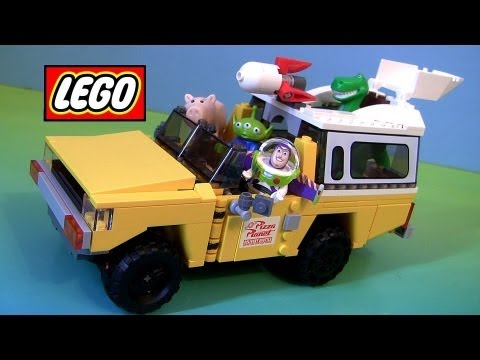 Lego Pizza Planet Truck Rescue 7598 Disney Pixar Toy Story 3 Special Edition Car video