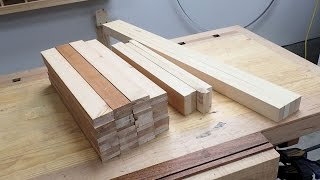 Making Wooden Blinds Part 1