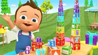 Learning Colors Numbers Animals with Puzzle Box Surprise Gifts Toys 3D Kids Little Baby Educational